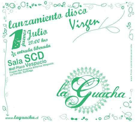 La Guacha lanzá su primer álbum, en la SCD Vespucio