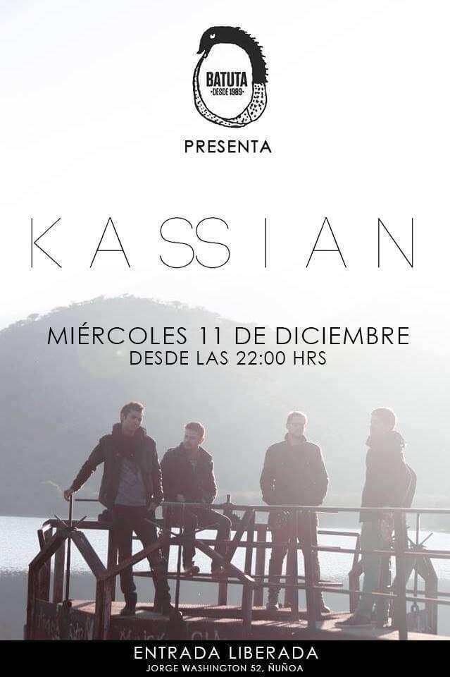 Debut oficial de Kassian se realizará este 11 de diciembre en la batuta