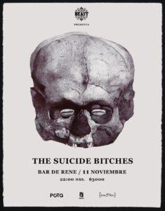 The Suicide Bitches afiche Santiago
