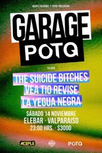 The Suicide Bitches afiche Valparaíso