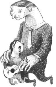 Ilustración: Sofrenia www.sonidosocultos.com