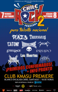 Chile Rock Festival www.sonidosocultos.com