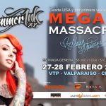 Megan Massacre protagonizará Escudo Summer Ink Chile 2017