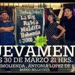 La Big Rabia & Maldita Bohemia en Bar Remolienda, Bellavista(30 marzo)