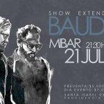 Bauda anuncia show extendido antes de grabar el 4 álbum de estudio