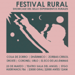 Festival Rural – Showcase Experimentos Rurales 23/03