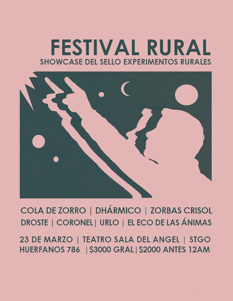 Festival Rural – Showcase Experimentos Rurales 23/03