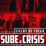 Último concierto de los Ciclos de Fuego (Sube + Crisis)