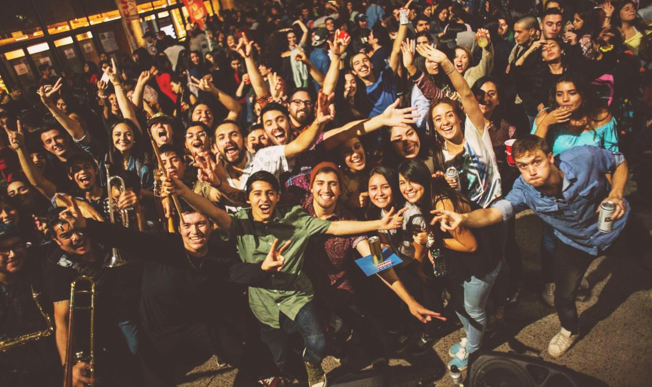 Azabache y Chilean Way juntos en Goodstock Bar (24 mayo)