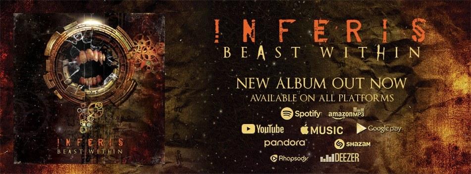 "Inferis lanza su nuevo disco ""Beast Within"""