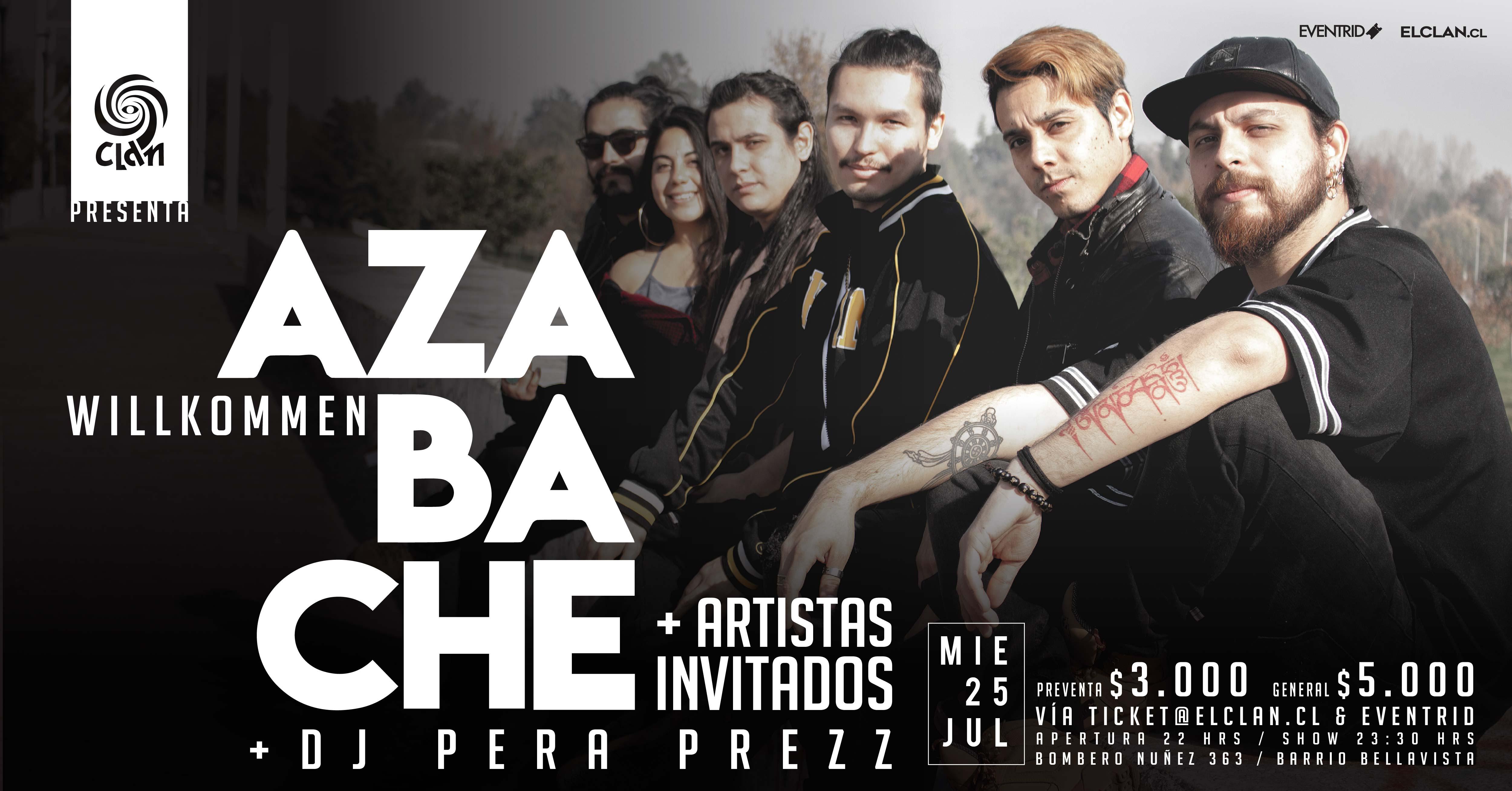 Pre lanzamiento y bienvenida de Azabache (25 julio)