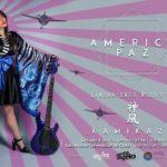 "America Paz lanzará en vivo nuevo disco ""KAMIKAZE"""