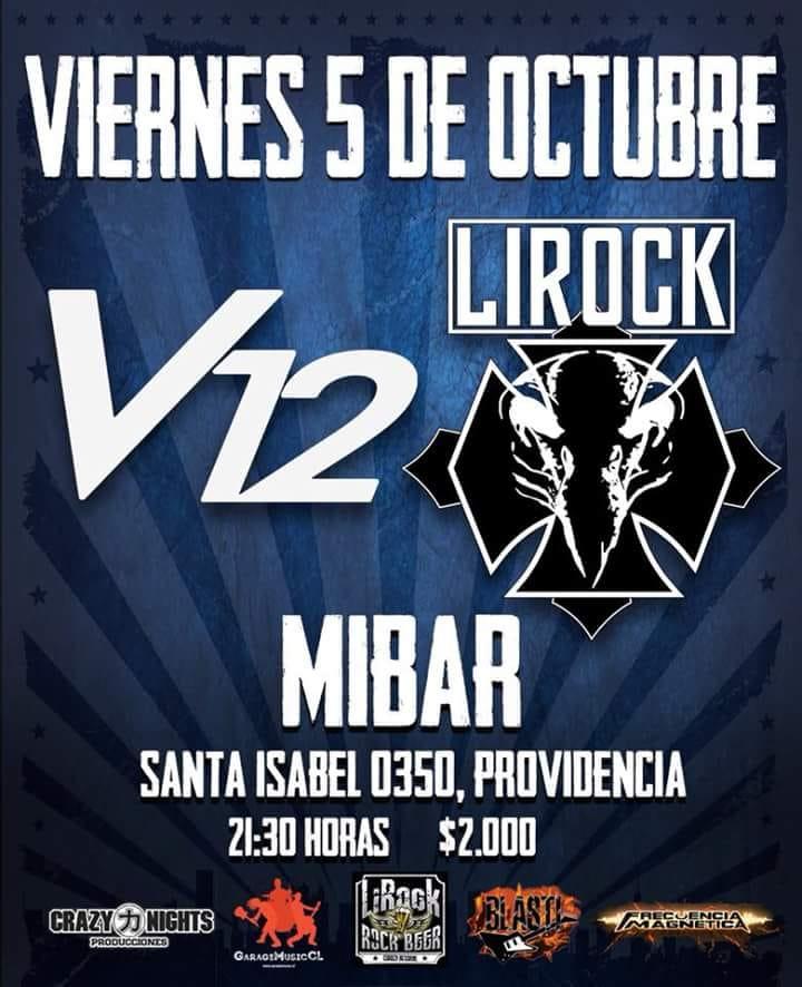 V12 anuncia nuevo single y show en Mibar (5 octubre)
