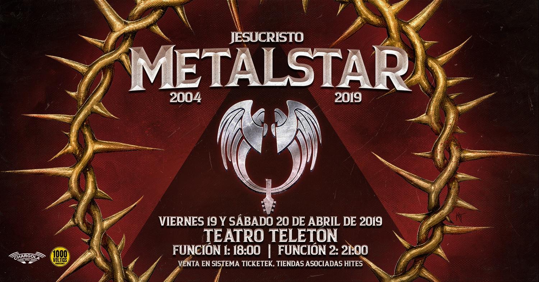 Jesucristo Metalstar vuelve al escenario celebrando sus 15 años