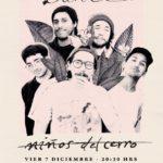 Niños del Cerro presentará su último disco, «Lance», el 7 de diciembre en Matucana 100