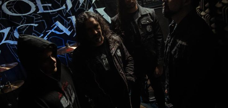 "Poema Arcanus firma con sello "" Transcending Obscurity Records """