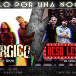 Beso Lésbico + Lisergico (12 julio)