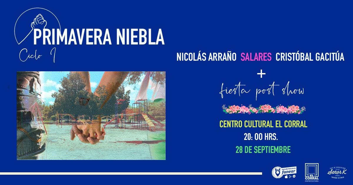 Sello Niebla anuncia su primer ciclo en Centro Cultural El Corral (28 septiembre)