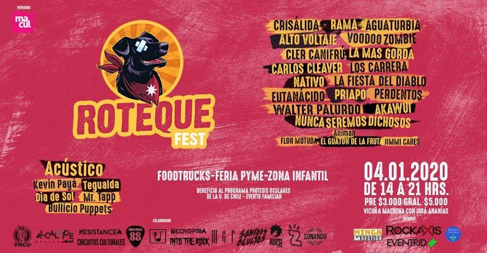 Roteque Fest: Artistas se reúnen en evento a beneficio de programa de prótesis oculares