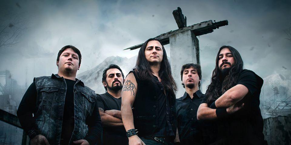 Vision Divine en Chile junto a los nacionales Steel Rage y H&H  (29 febrero)