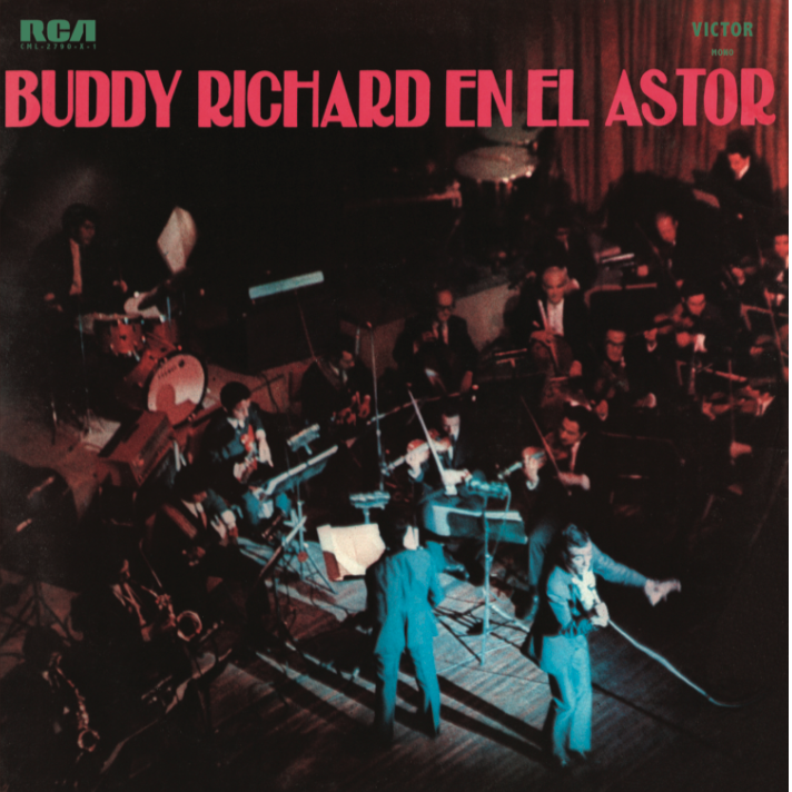 Buddy Richard reedita su histórico disco » Buddy Richard En El Astor»