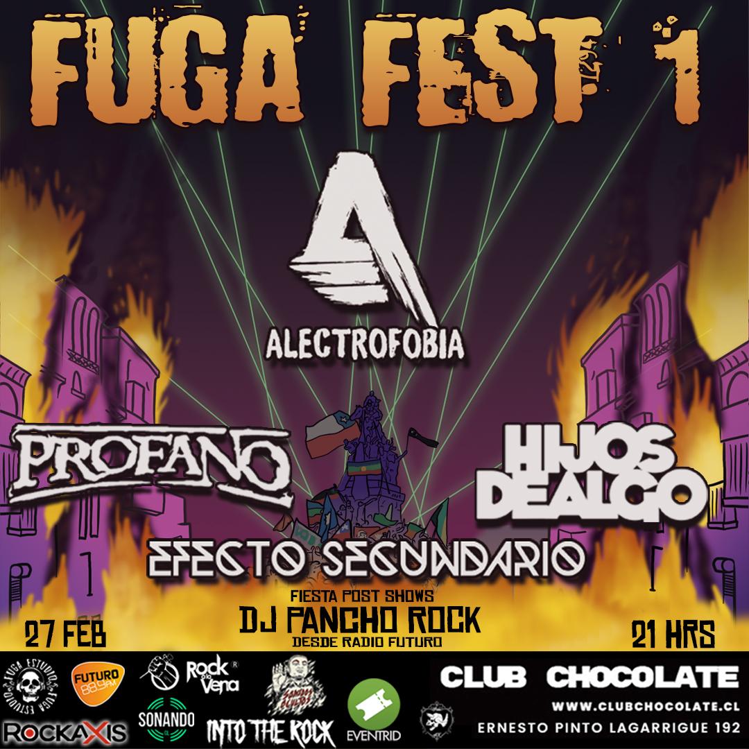 Fuga Estudio anuncia su primer festival (27 febrero)