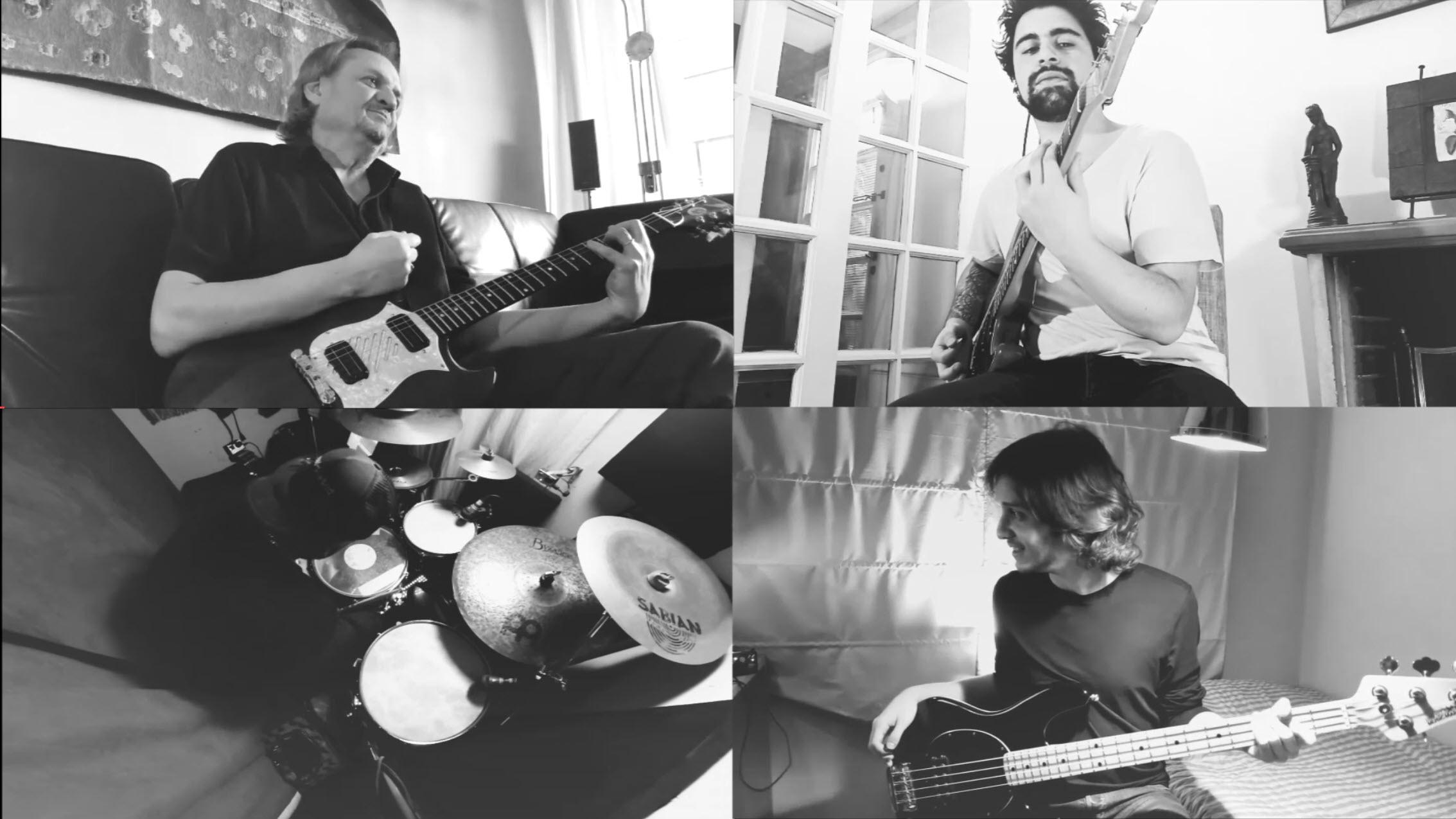 Desvalijados lanza videoclip en #cuarentena «La luz del baño no prende»