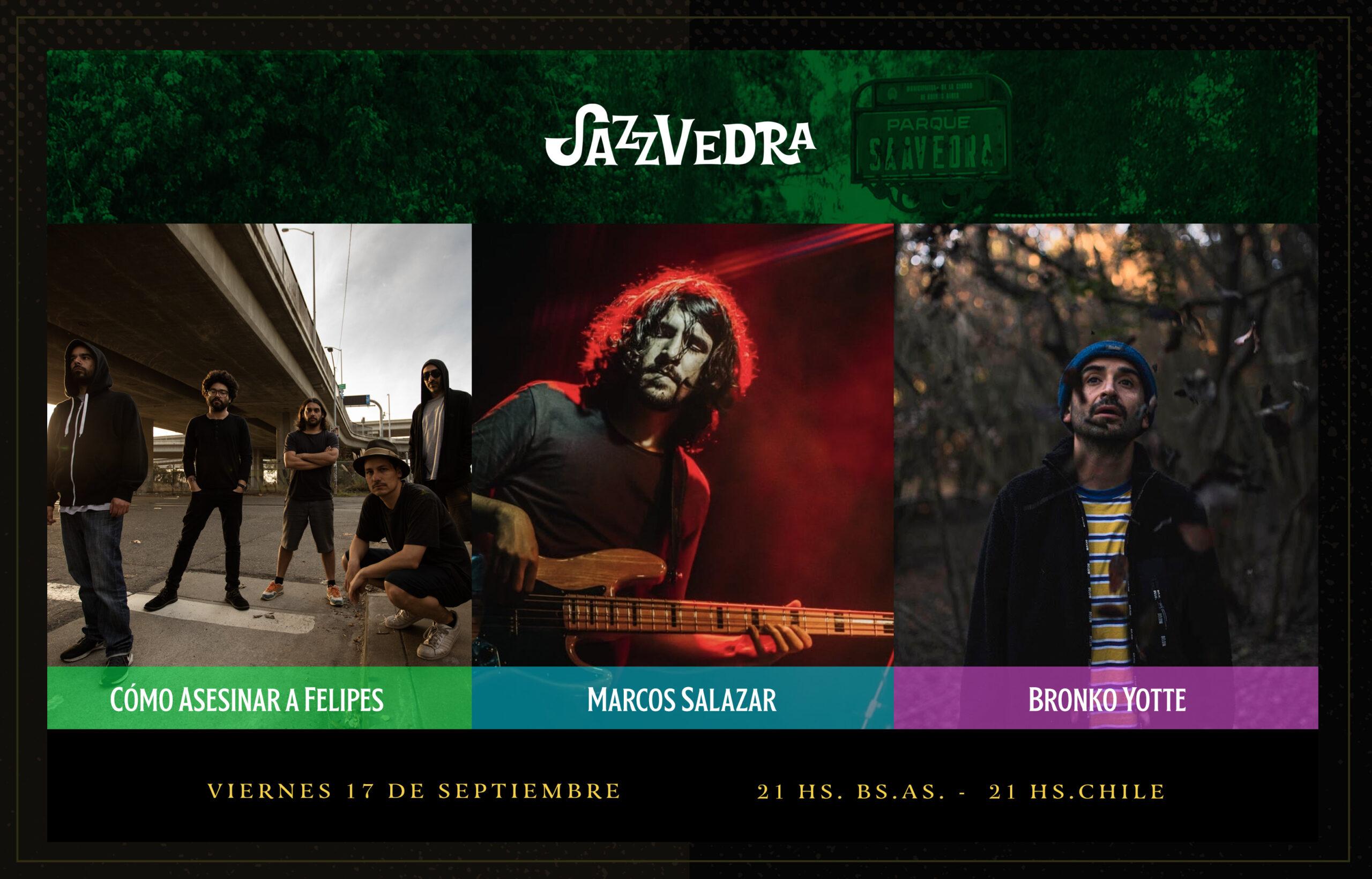 Festival Jazzvedra de Argentina presenta su tercera edición éste 17 de septiembre