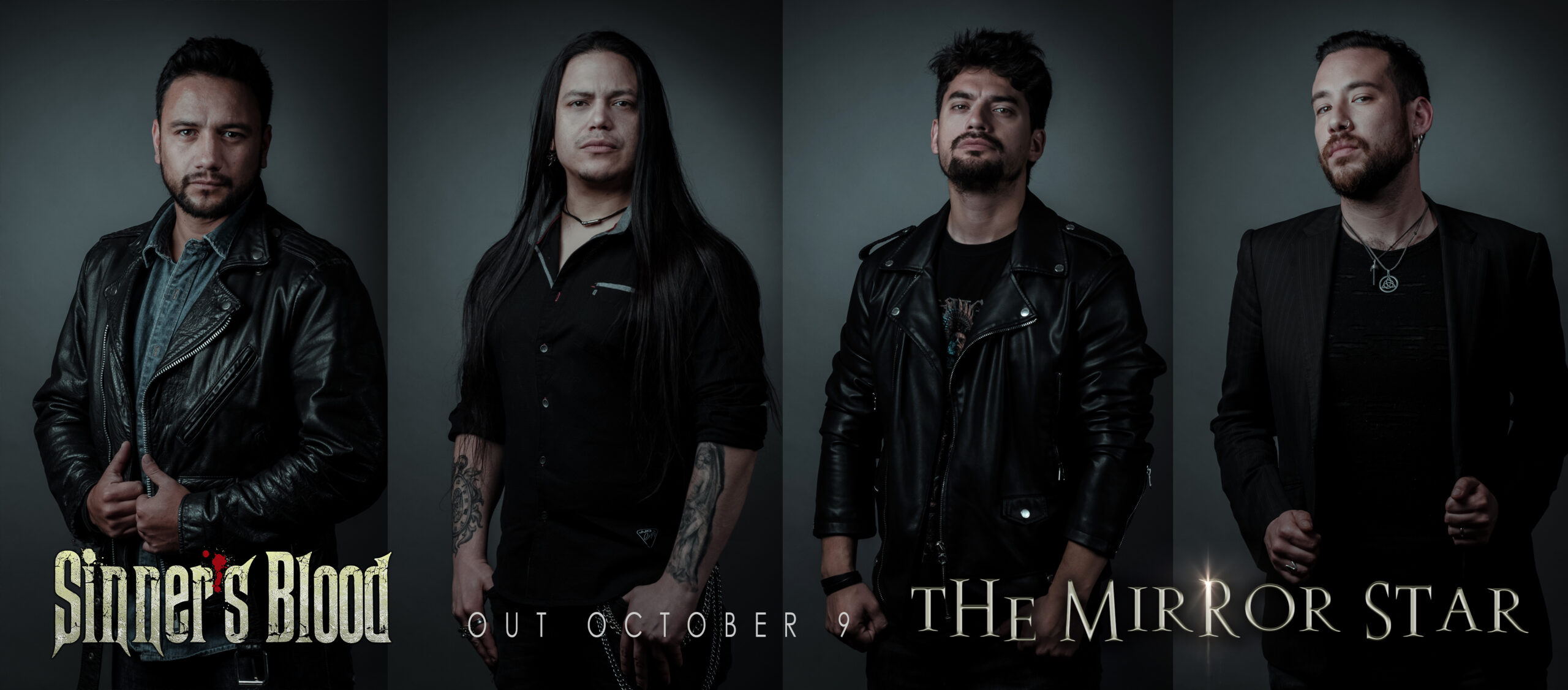 Sinners Blood presenta «The Mirror», adelanto de nuevo disco