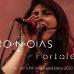 """Pronoias presenta videoclip en vivo """"Fortaleza"""" (2020)"""