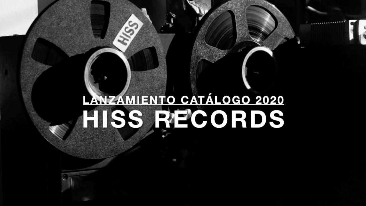 Sello Hiss Records inaugura su catálogo 2020