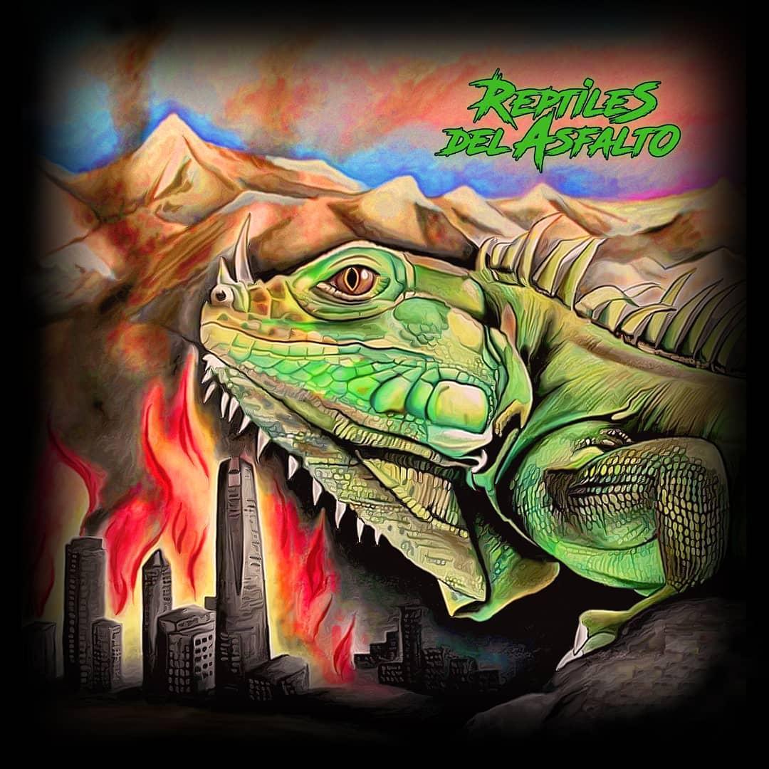 Reptiles del Asfalto «Homónimo» (2020)