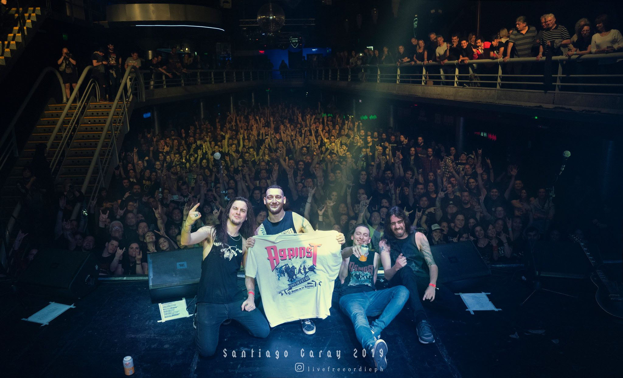 Against (Argentina) presenta su disco y DVD en vivo «10 años llevando la contra»