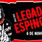 """""""Legado Espinosa $hile"""" tributo al mítico vocalista de Flema - Ricky Espinosa"""