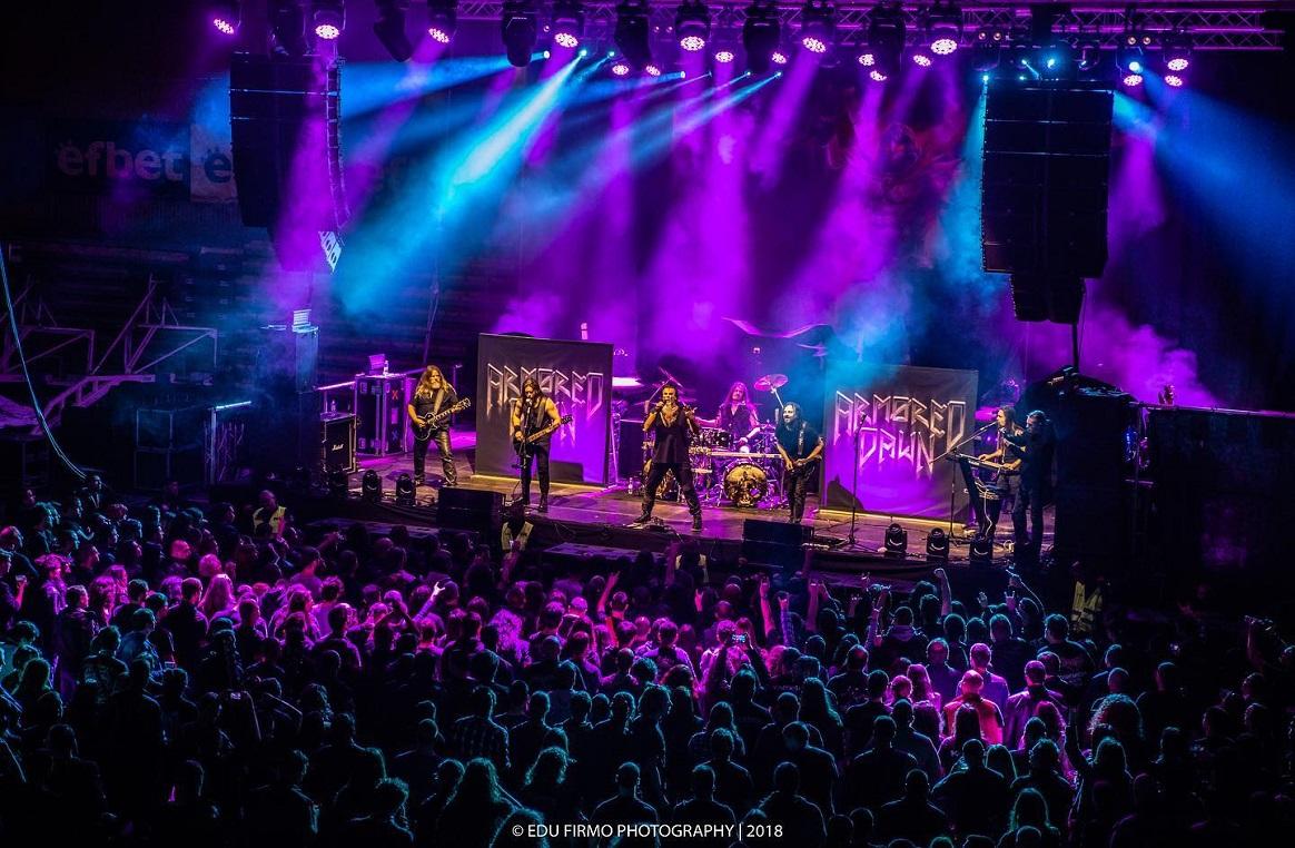 Armored Dawn (Brasil) anuncia giras latinoamericanas junto a Nightwish y Sonata Arctica