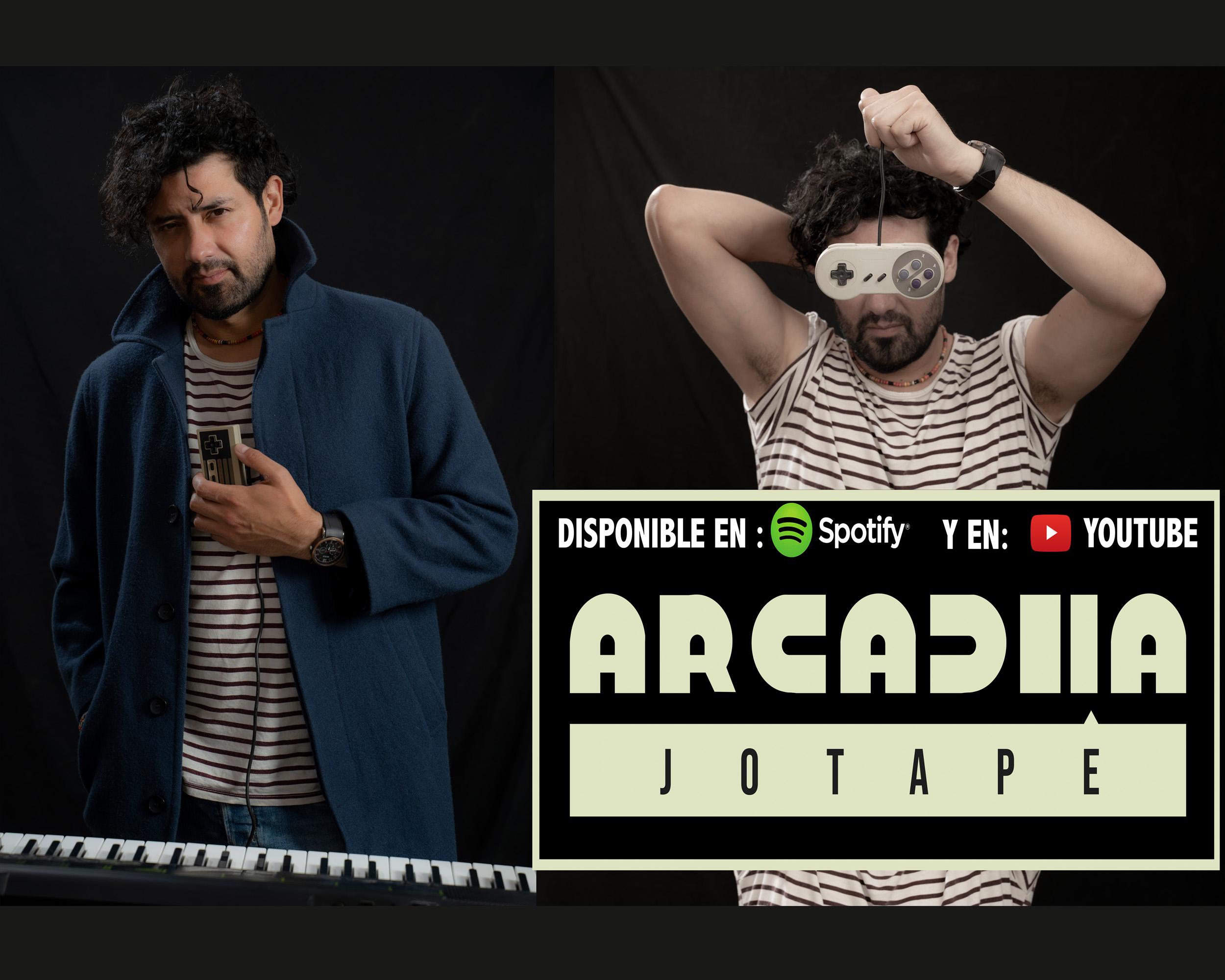 Jotapé estrena nuevo álbum «Arcadia»