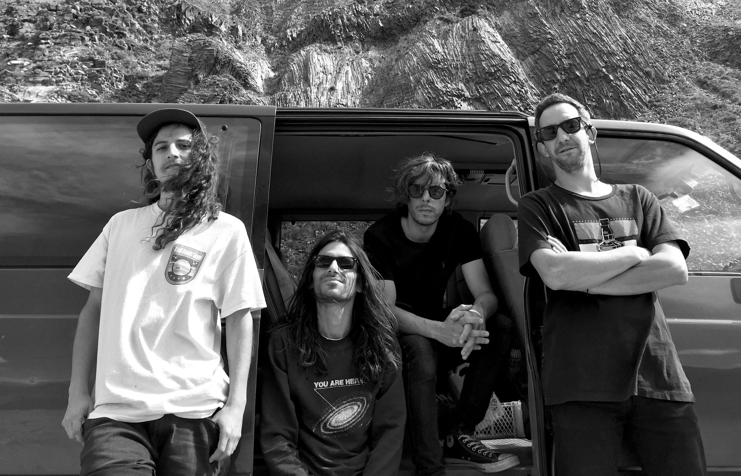 The Ganjas presenta nuevo álbum «Live at Bar de René» (Feat. Jack Endino)