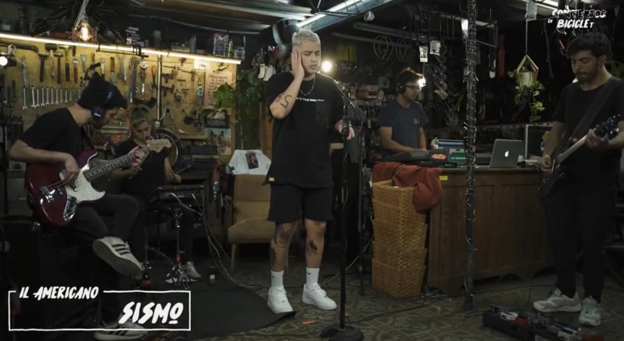 Il Americano (Argentina) presenta sesión en vivo  (2021)