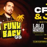 ¡Da funk is back! C-Funk se presentará en Club Subterráneo este 8 de septiembre